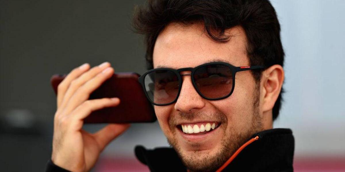 'Checo' Pérez confirma en Austria que será padre de una niña