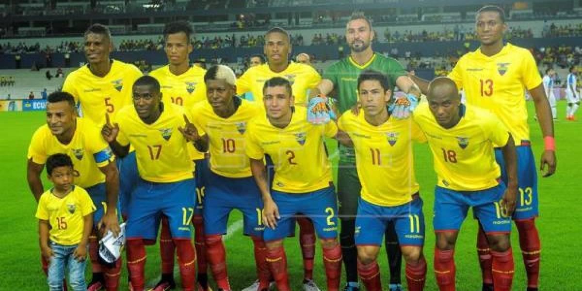 Uruguay y Jamaica serán los primeros rivales de Ecuador