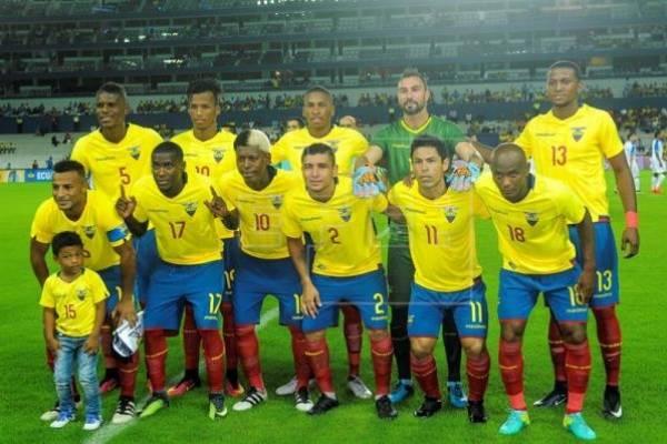 Los jugadores que repiten la lista de convocados a la Selección de Ecuador