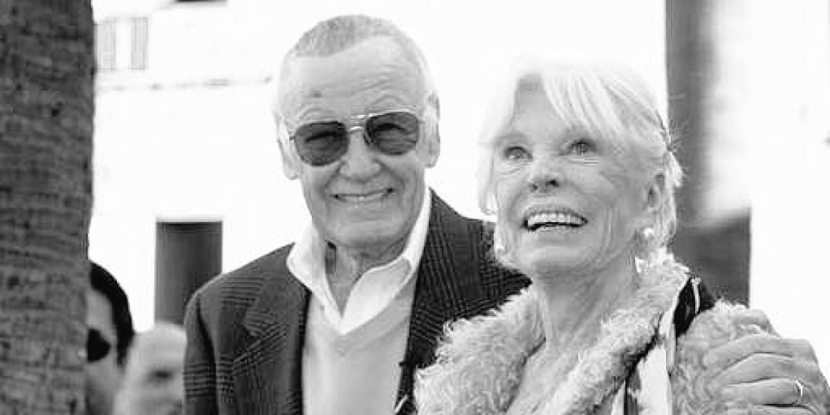 Muere Joan Lee, esposa de Stan Lee