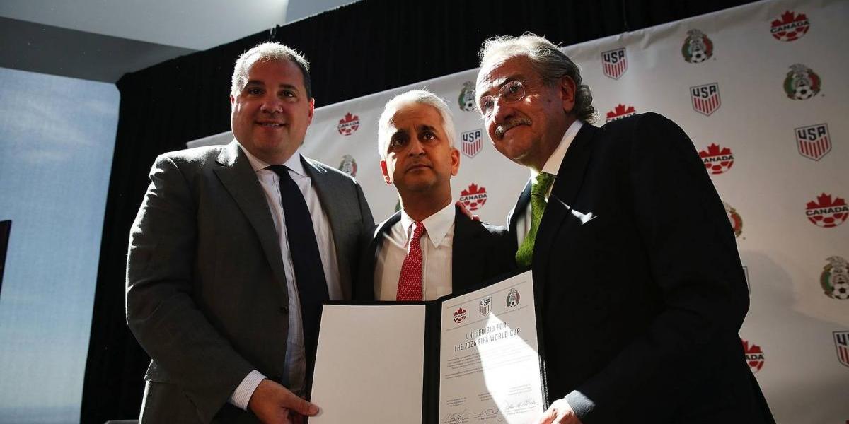 México, EU y Canadá crean comité en busca del Mundial del 2026