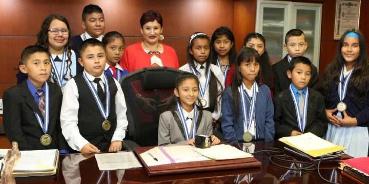 Ministerio Público elige a estudiante de Santa Rosa como Niña Fiscal por un día