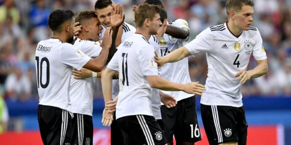 Alemania regresa a la primera posición lista FIFA