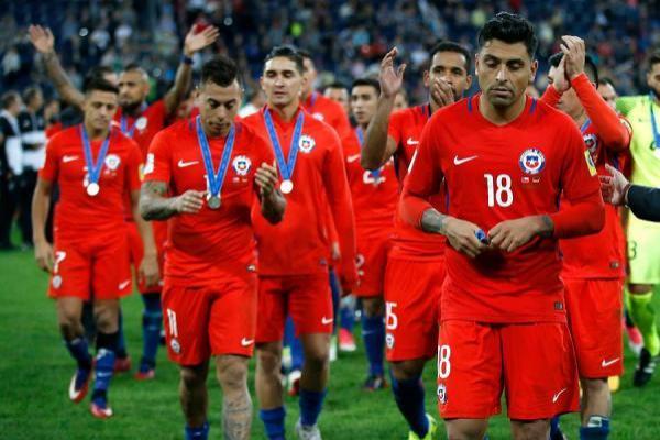 Chile pasó del cuarto al séptimo puesto en el ranking FIFA / Photosport