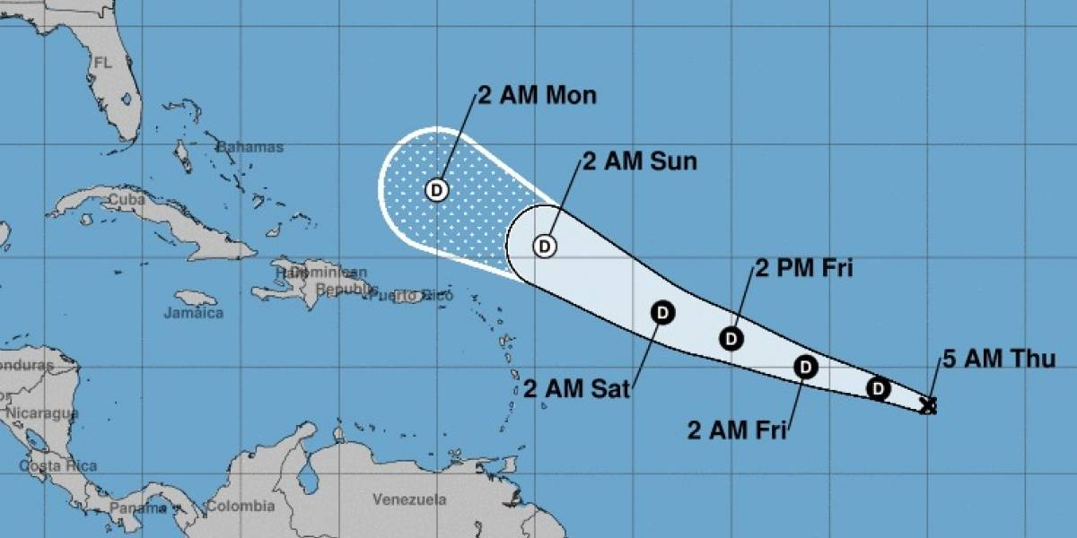 Se forma la cuarta depresión tropical