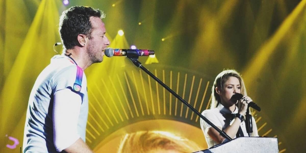 Shakira y Coldplay cantan por un mundo más justo durante el G20