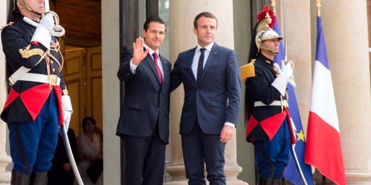 Inversión francesa en México creció un 50% en los últimos 4 años: Peña Nieto