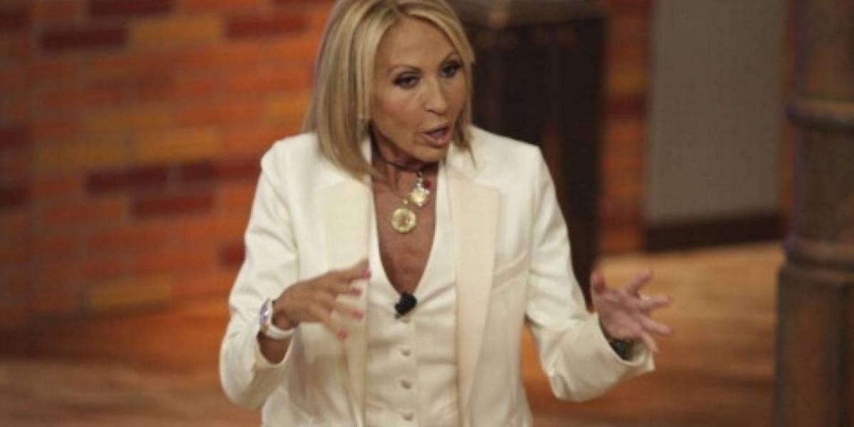 Laura Bozzo reveló infidelidad de su pareja