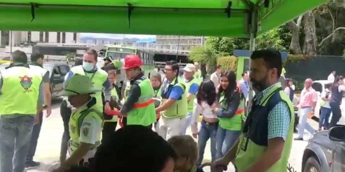 VIDEO. Municipalidad de Guatemala realiza simulacro de evacuación por sismos