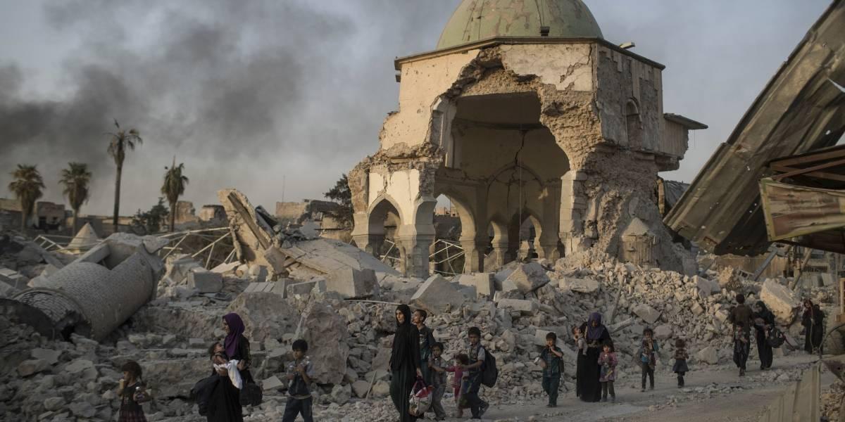 ONU: 2 mil personas huyen a diario de Mosul