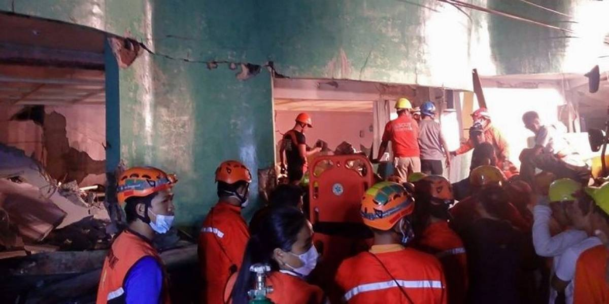 Terremoto en Filipinas deja al menos una persona fallecida