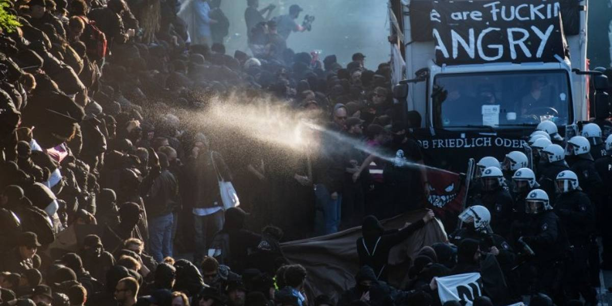 Las brutales imágenes de las protestas en Hamburgo contra el G-20, la cumbre de la discordia
