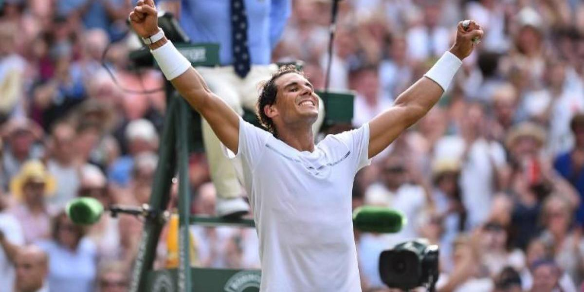 "El confiado Rafa Nadal en Wimbledon: ""Tuve un nivel muy alto, casi irreal"""