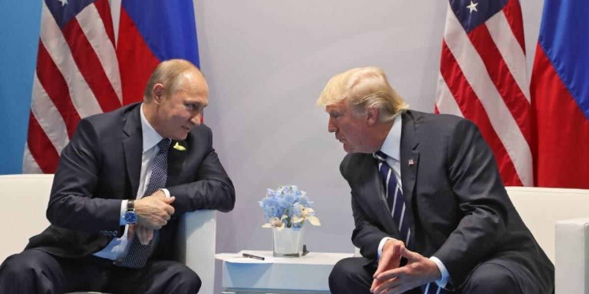 VIDEO. El esperado momento entre Vladímir Putin y Donald Trump