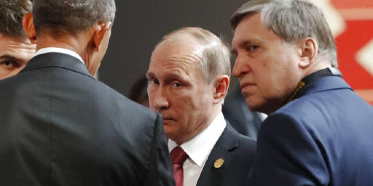 Trump se reúne por primera vez con Putin