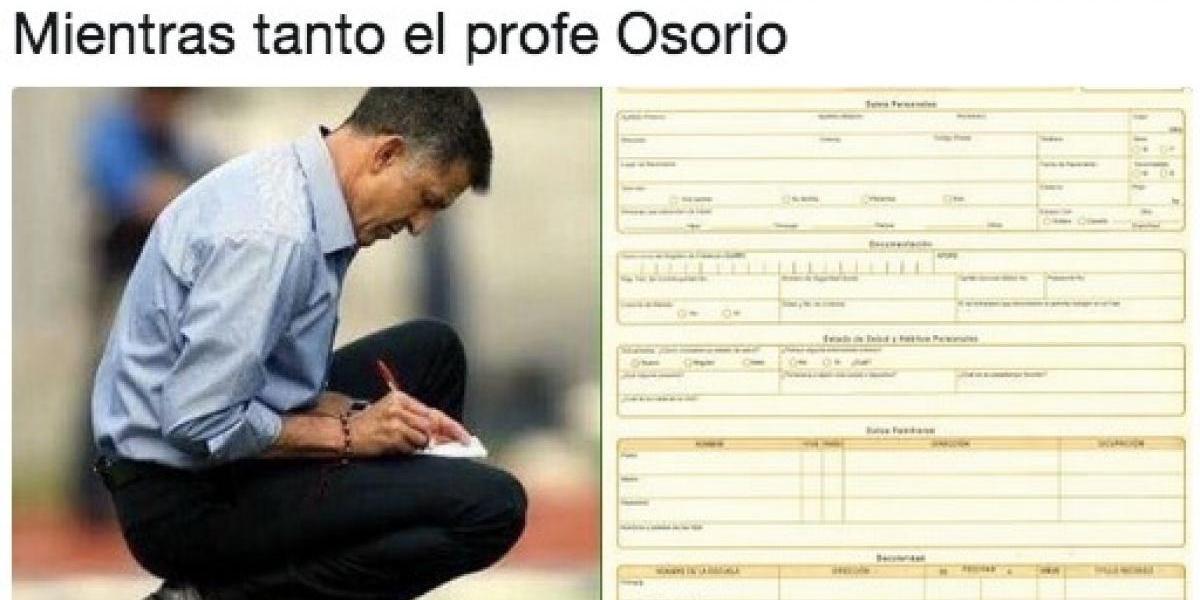 Juan Carlos Osorio se pierde la Copa Oro y los memes no lo perdonan