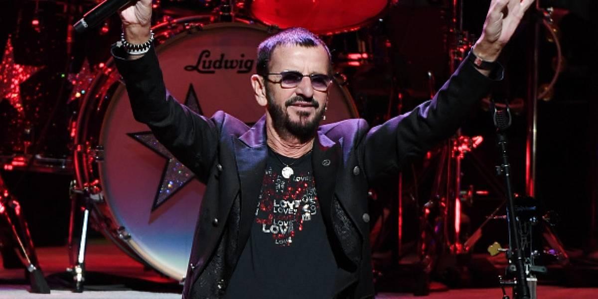 Ringo Starr celebra su 77 cumpleaños