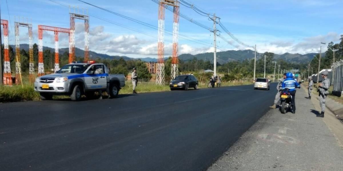 ¡Atención! Por amenaza de carro bomba se cierra el aeropuerto José María Córdova