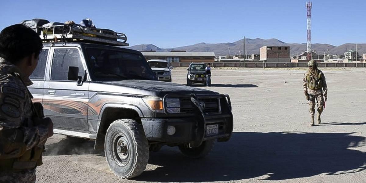 Se conoce la primera imagen de los carabineros detenidos en Bolivia