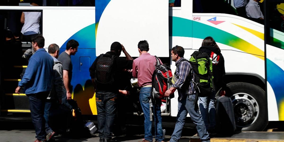 Vacaciones de invierno: industria de buses prevé un alza de 32% en ventas de pasajes