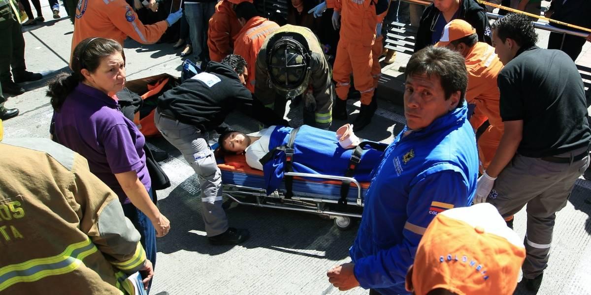 ¡Atención! Accidente múltiple con buses del SITP dejan 7 heridos