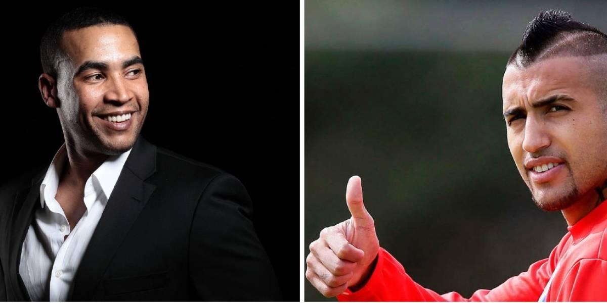 De King a King: Los halagos entre Arturo Vidal y Don Omar