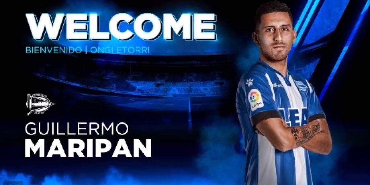 Deportivo Alavés confirmó el fichaje de Guillermo Maripán