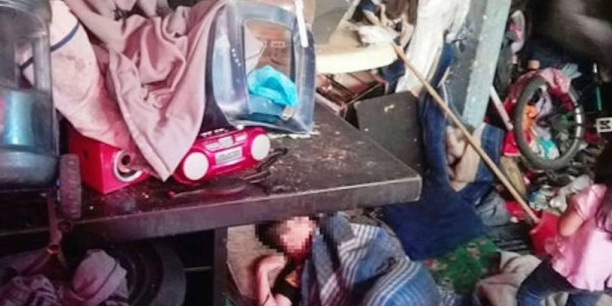 Rescatan a cuatro niños que vivían hacinados en la Cuauhtémoc