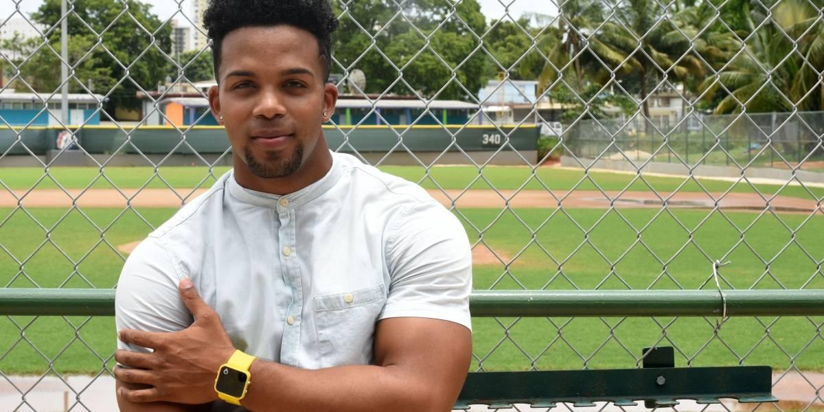 César Rivera, del campo de pelota a la moda