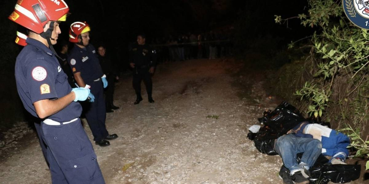 Identifican a dos de los cuatro cadáveres envueltos en bolsas plásticas en la ruta al Atlántico