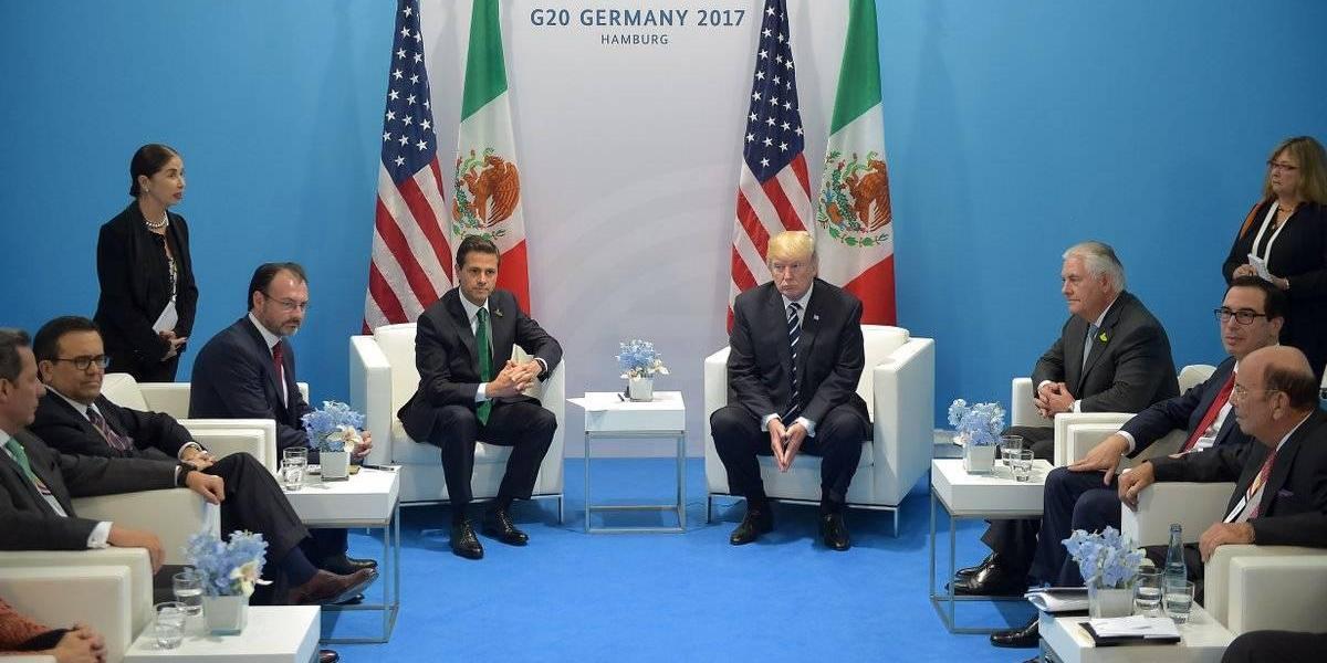 Peña Nieto no escuchó a Trump decir que México pagará el muro: Videgaray
