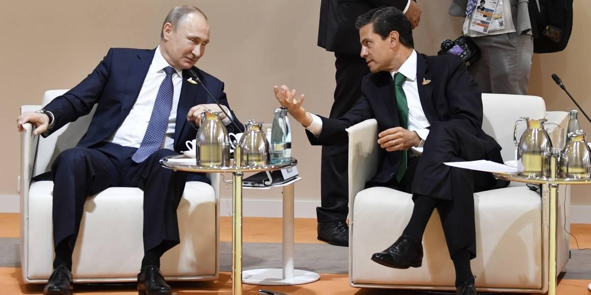 Inicia participación de Peña Nieto en encuentro de líderes del G20