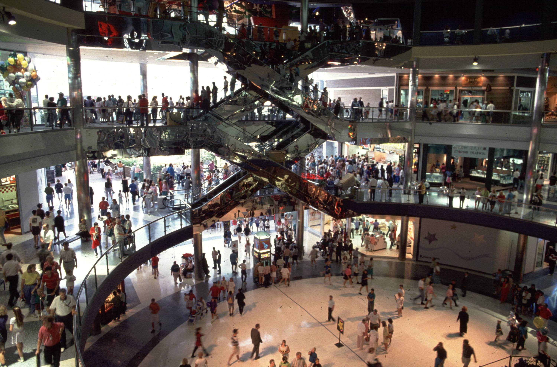 Un centro comercial estadounidense.