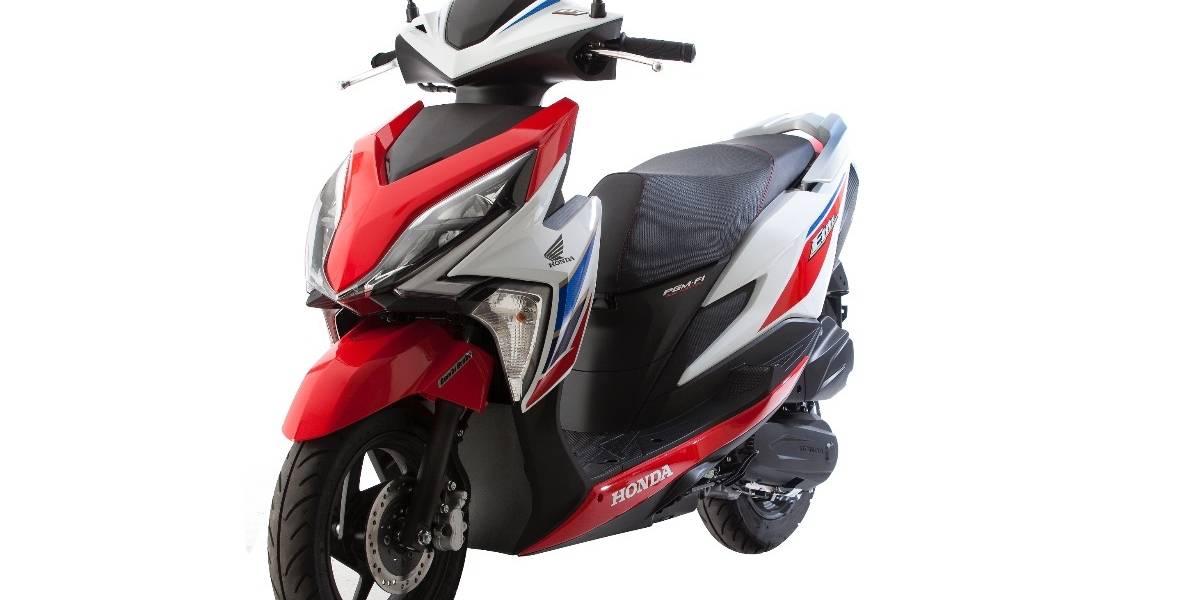 Honda actualiza su scooter Elite