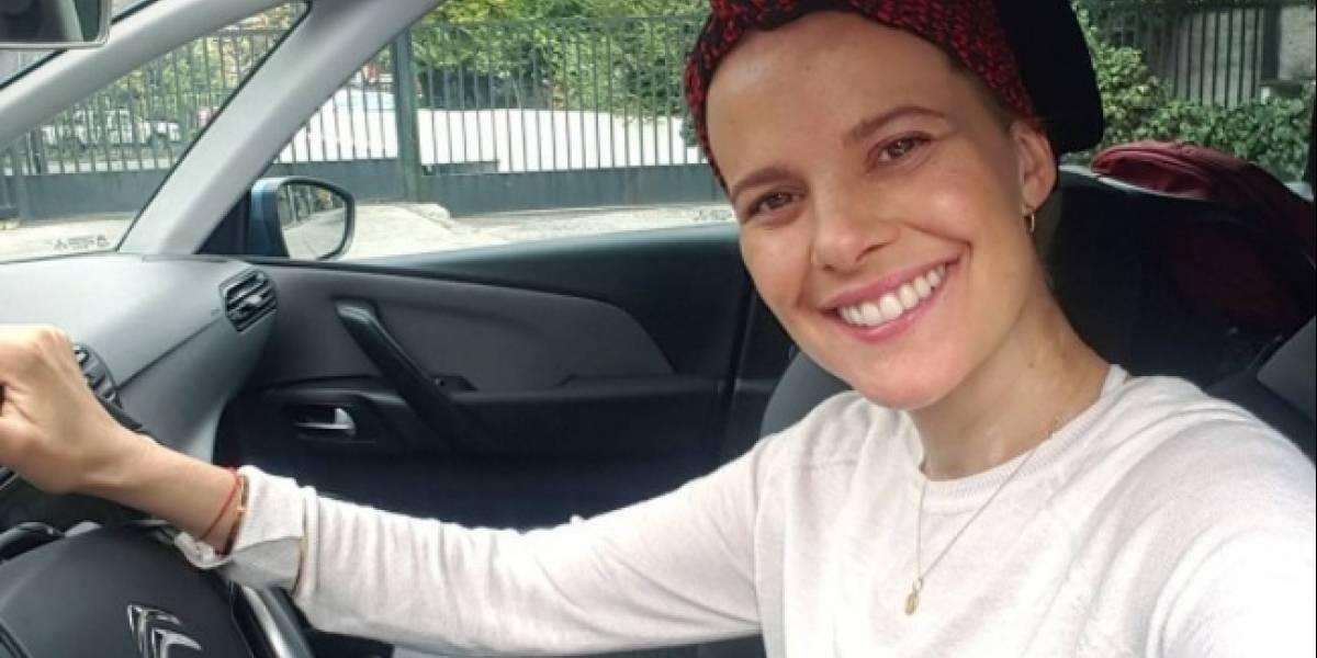 Así fue la fuerte lucha de Javiera Suárez contra el cáncer de piel