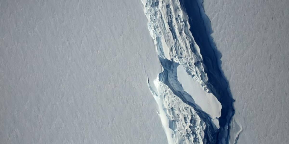Larsen C: Grieta en la Antártica está a un paso de generar el iceberg más grande de la historia