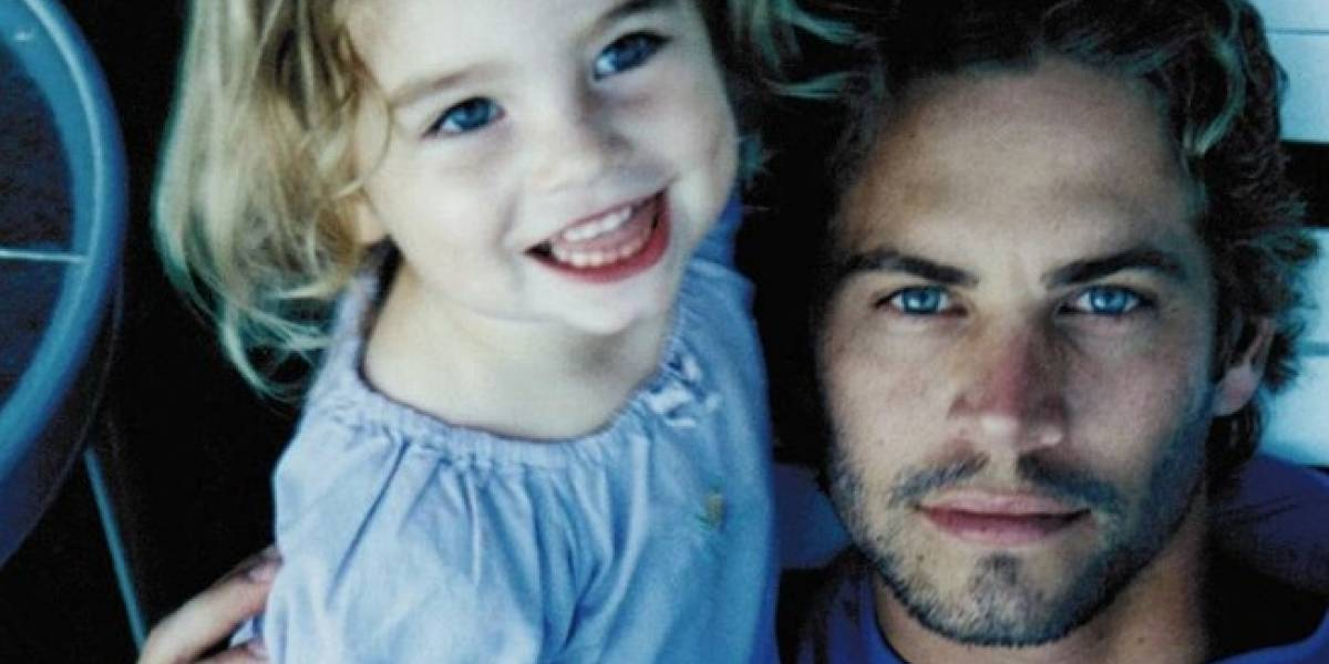 Con 19 años, la hija de Paul Walker muestra su lado sexy