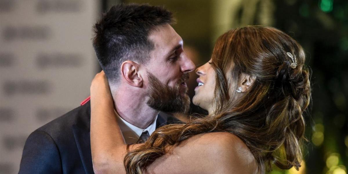 Lionel Messi comparte en Instagram la primera imagen de su luna de miel