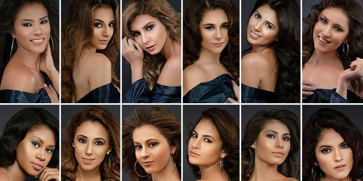 Ellas son las 18 guapas participantes que buscarán ser Miss Universe Guatemala 2017