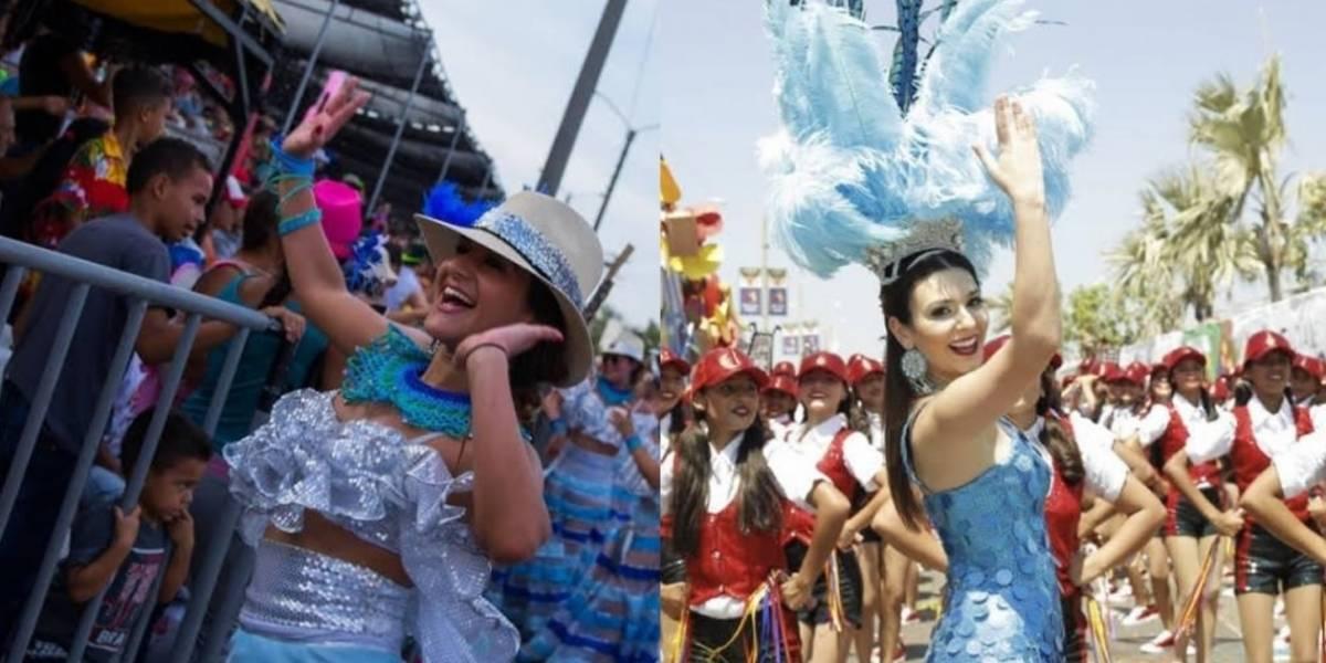 Estas son las dos aspirantes a Reina del Carnaval de Barranquilla 2018