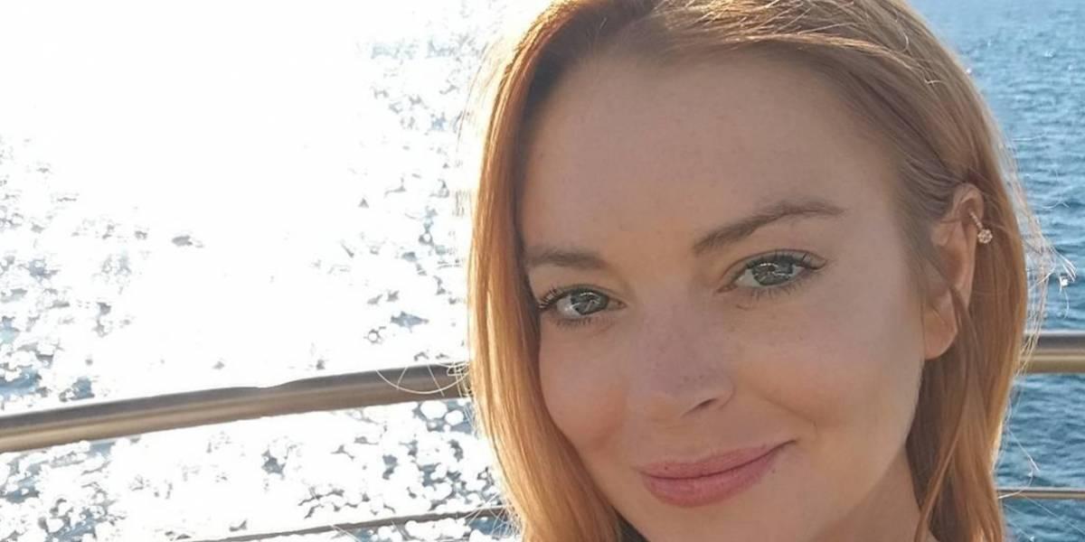 El desmejorado aspecto de Lindsay Lohan en traje de baño decepciona a sus fans