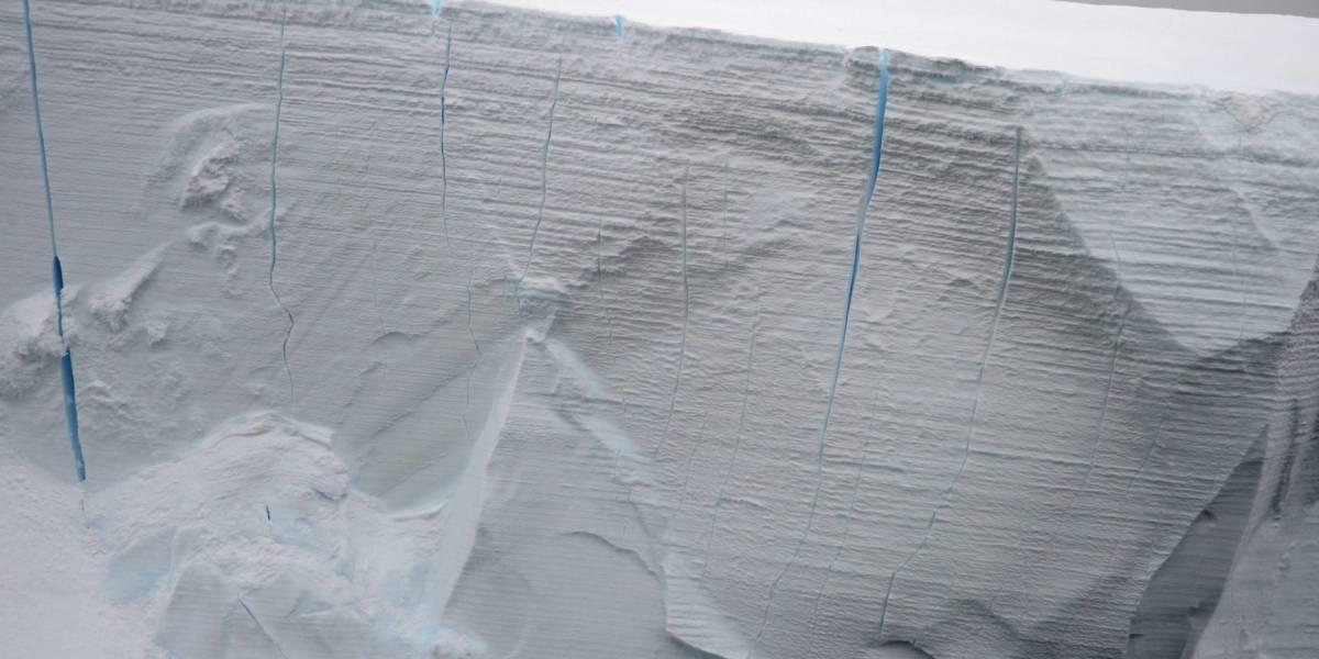 A punto de desprenderse de la Antártida uno de los mayores bloques de hielo