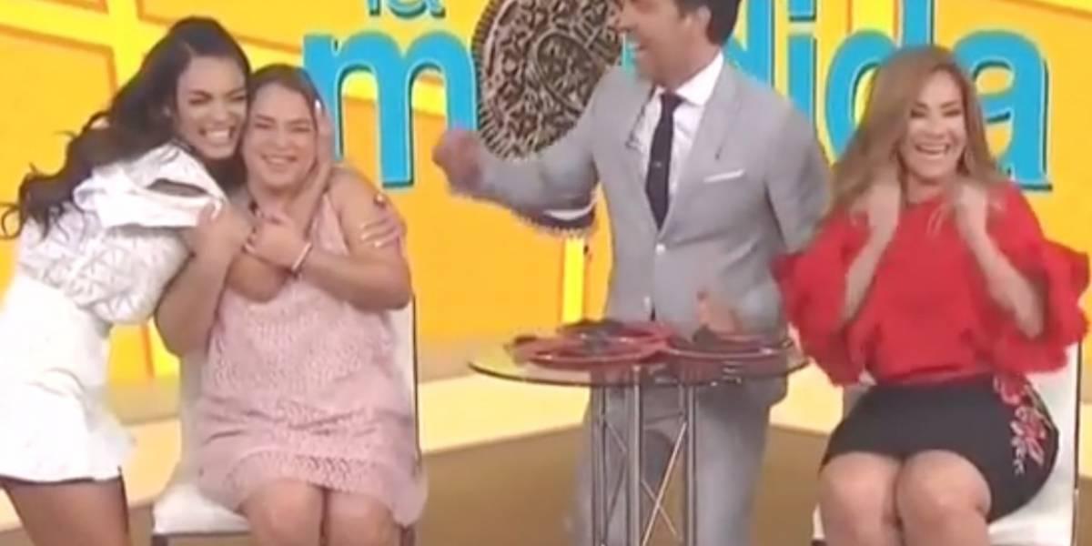 Adamari López sorprende con picante comentario en programa en vivo