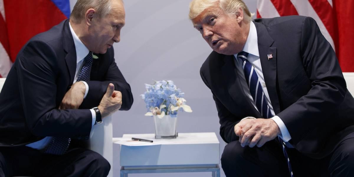 Putin niega ante Trump injerencia rusa en elecciones de EU