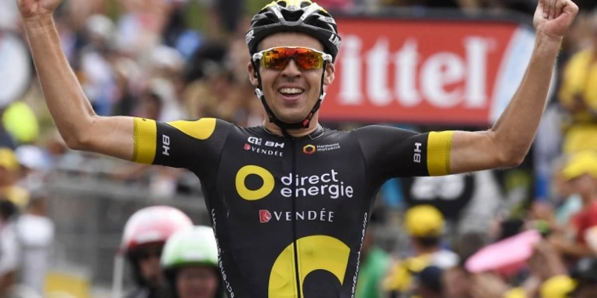 El joven francés Calmejane sorprende en la segunda etapa de montaña en el Tour de Francia