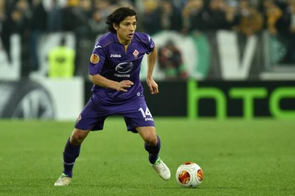 Matías Fernández en su anterior paso por la Fiorentina / Getty Images