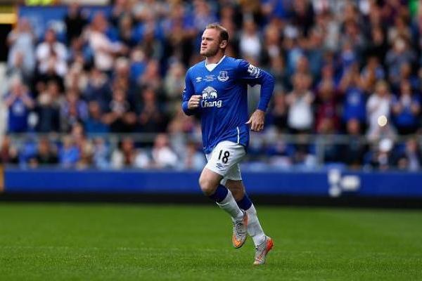 Rooney en un partido amistoso con la camiseta del Everton / Getty Images