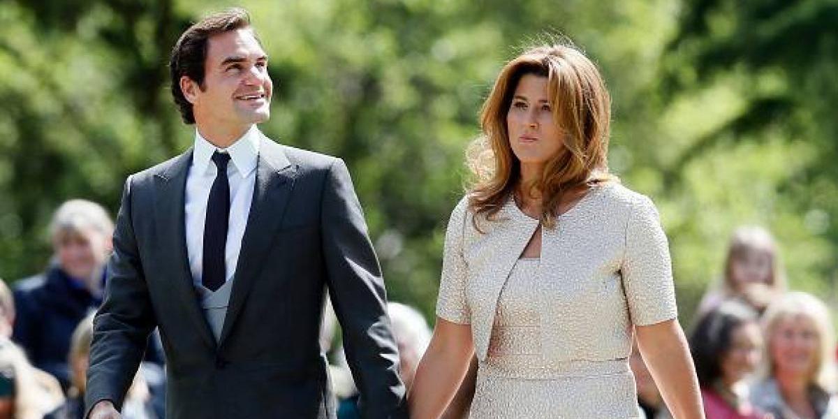 """Federer se sincera: """"Si mi esposa dice que no quiere viajar más, termino mi carrera"""""""