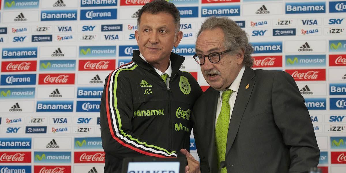 Decio arremete contra Osorio: 'Con reclamos no se ganan los partidos'
