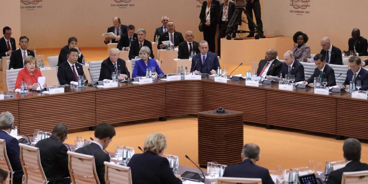 Termina cumbre del G20: hay acuerdo sobre comercio, pero no sobre el cambio climático